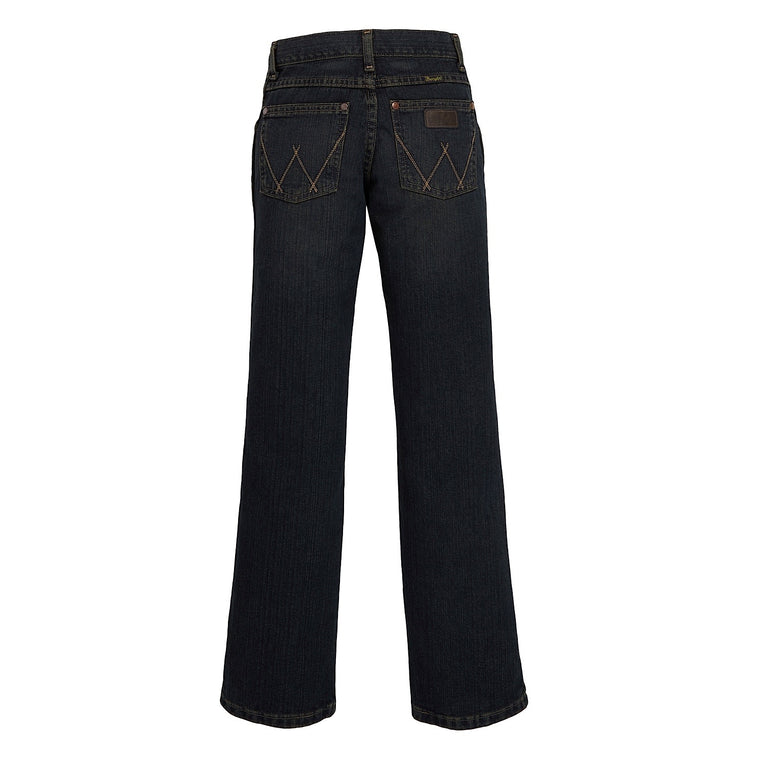 Wrangler Boys Retro Relaxed Straight Jean Rolling River