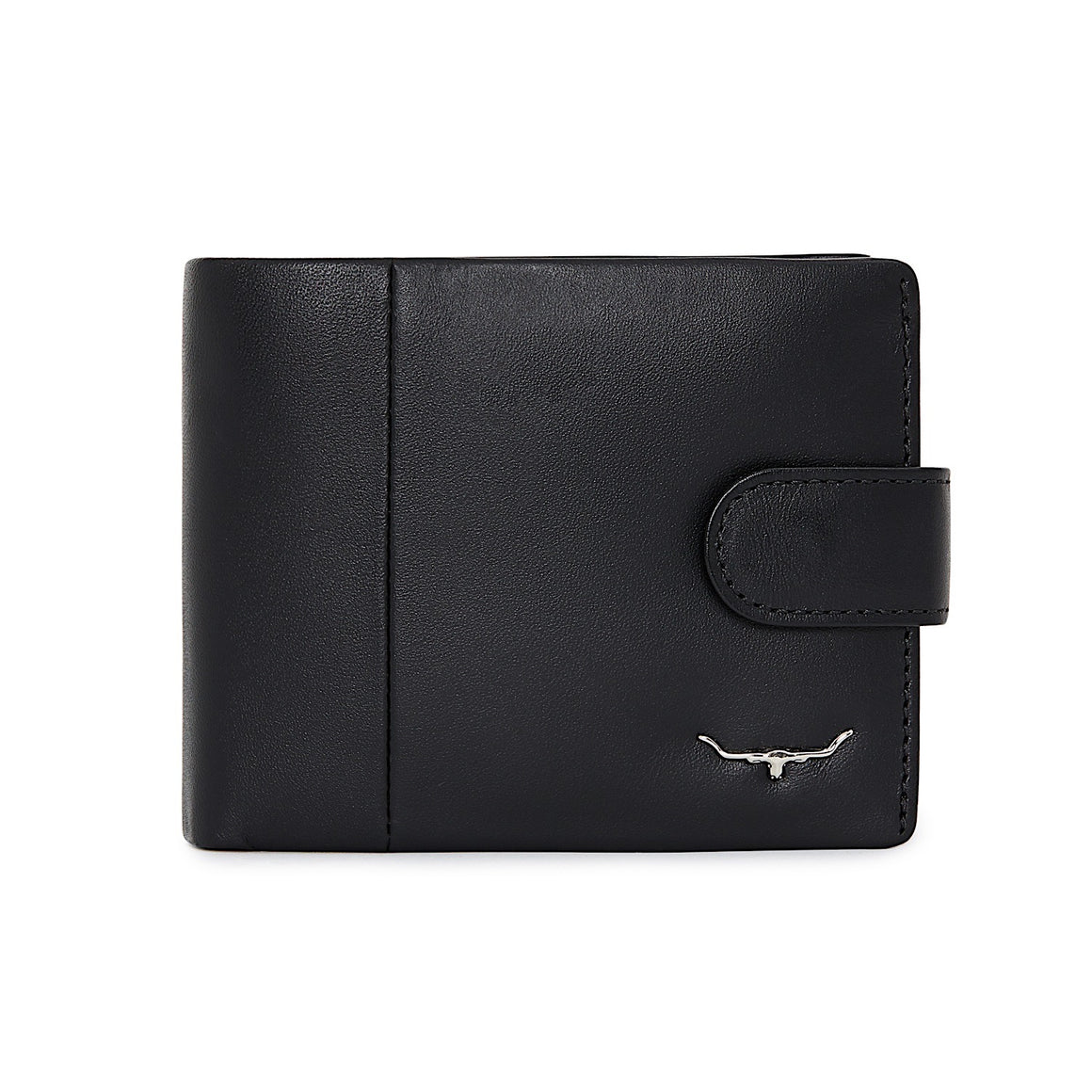 R.M.Williams Black Mens Wallet with Coin Purse