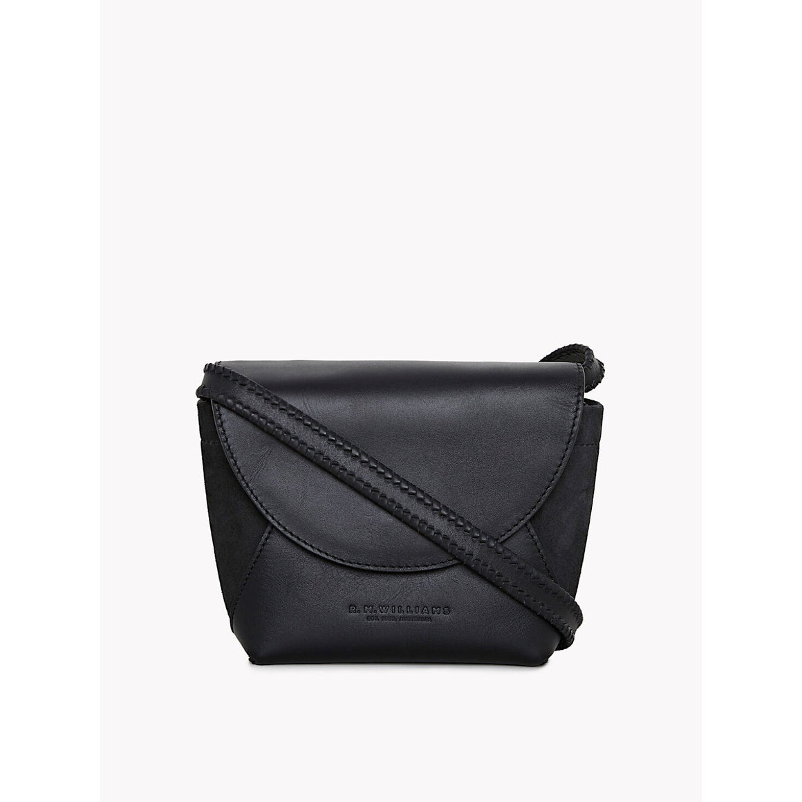 R.M Williams Womens Signature Clutch Bag Black