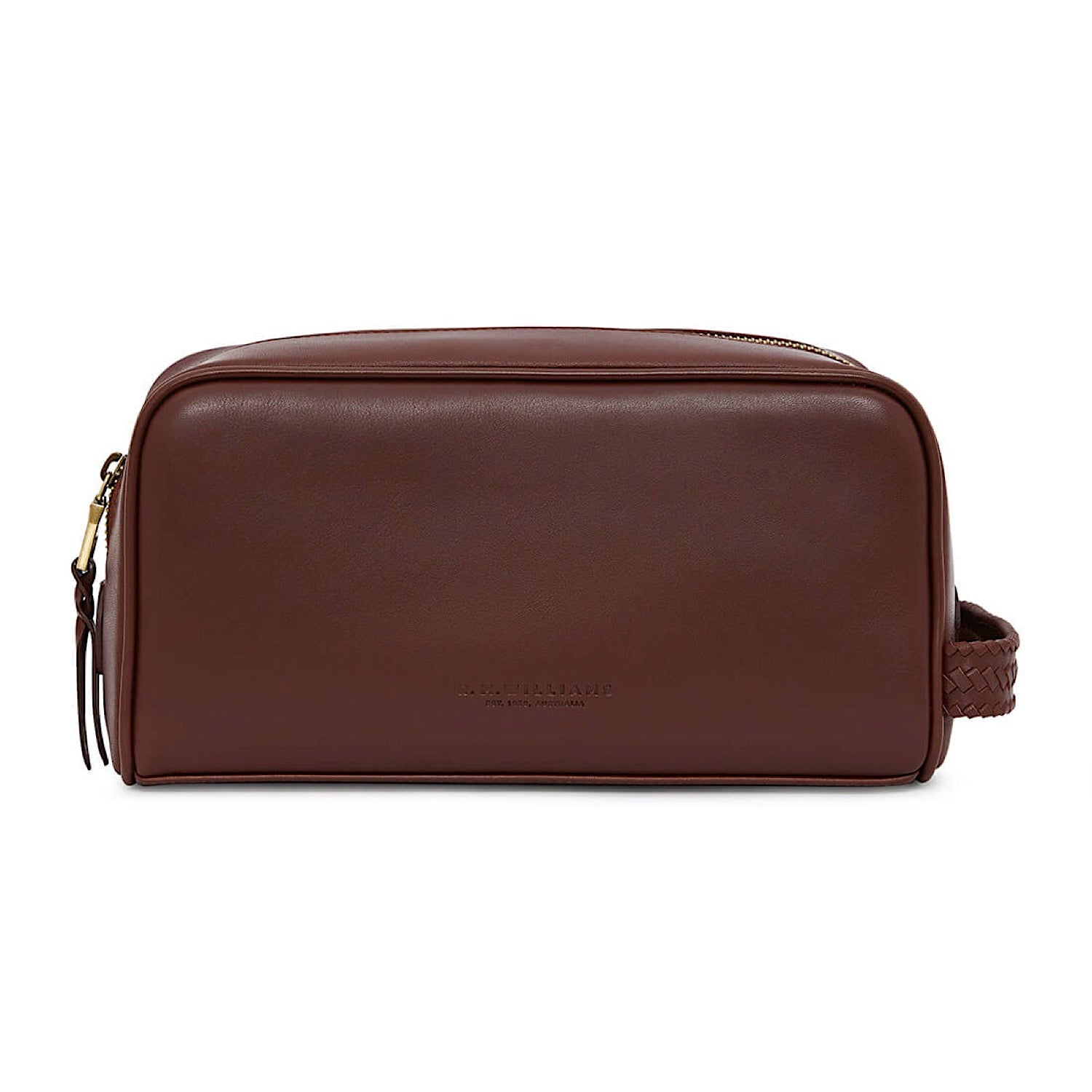 Buy R.M.Williams City Wash Bag Chestnut - The Stable Door 74cbe57412ed3