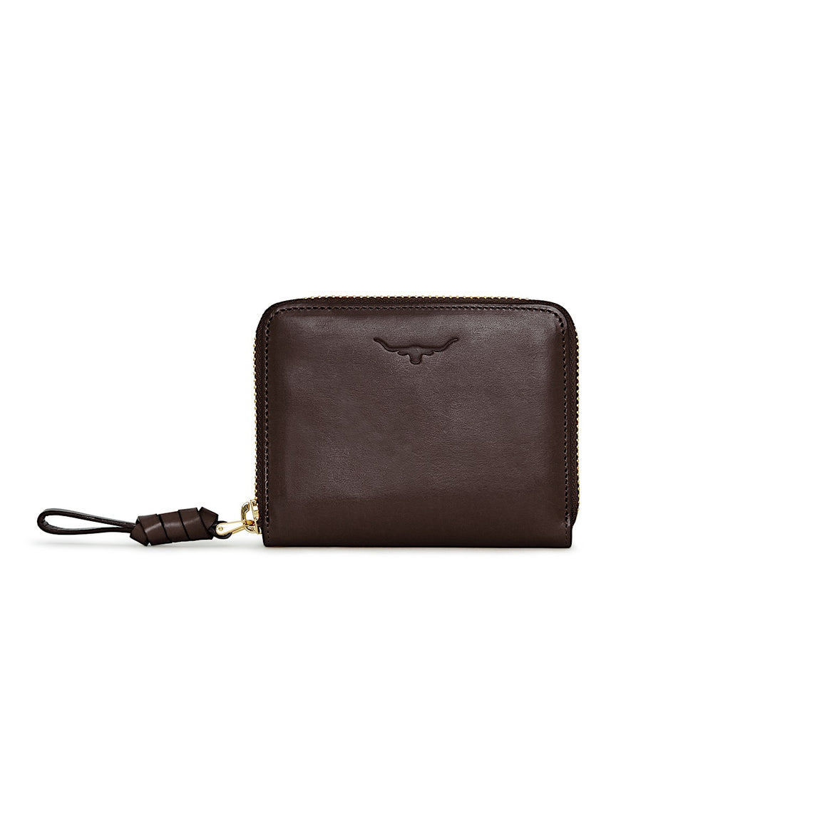 R.M.Williams Womens City Short Zip Wallet Chestnut