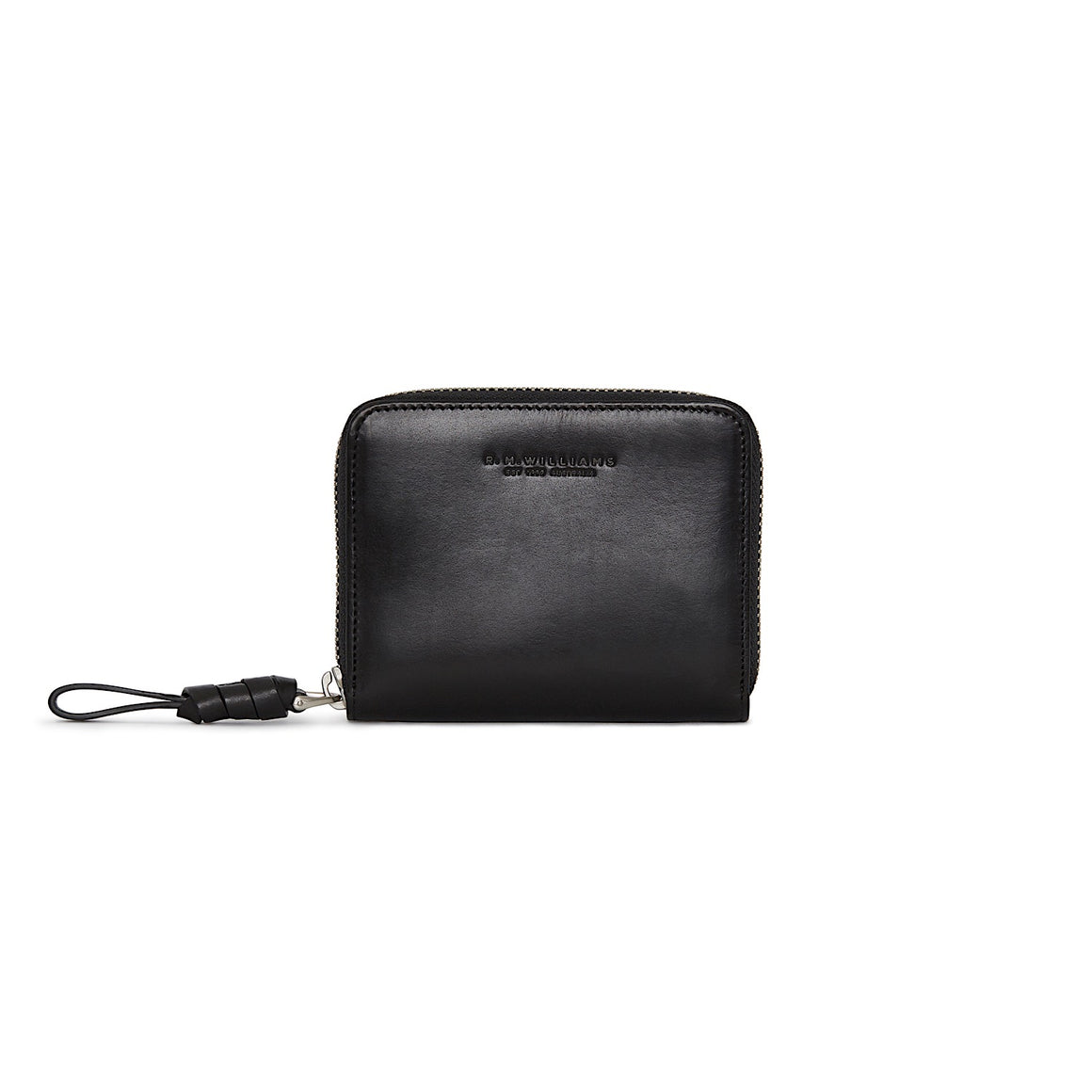 R.M.Williams Womens City Short Zip Wallet Black