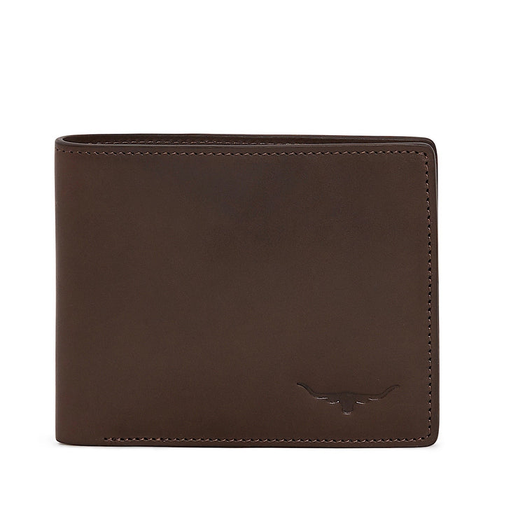 R.M.Williams City Chestnut Bi-Fold Wallet Italian calf leather