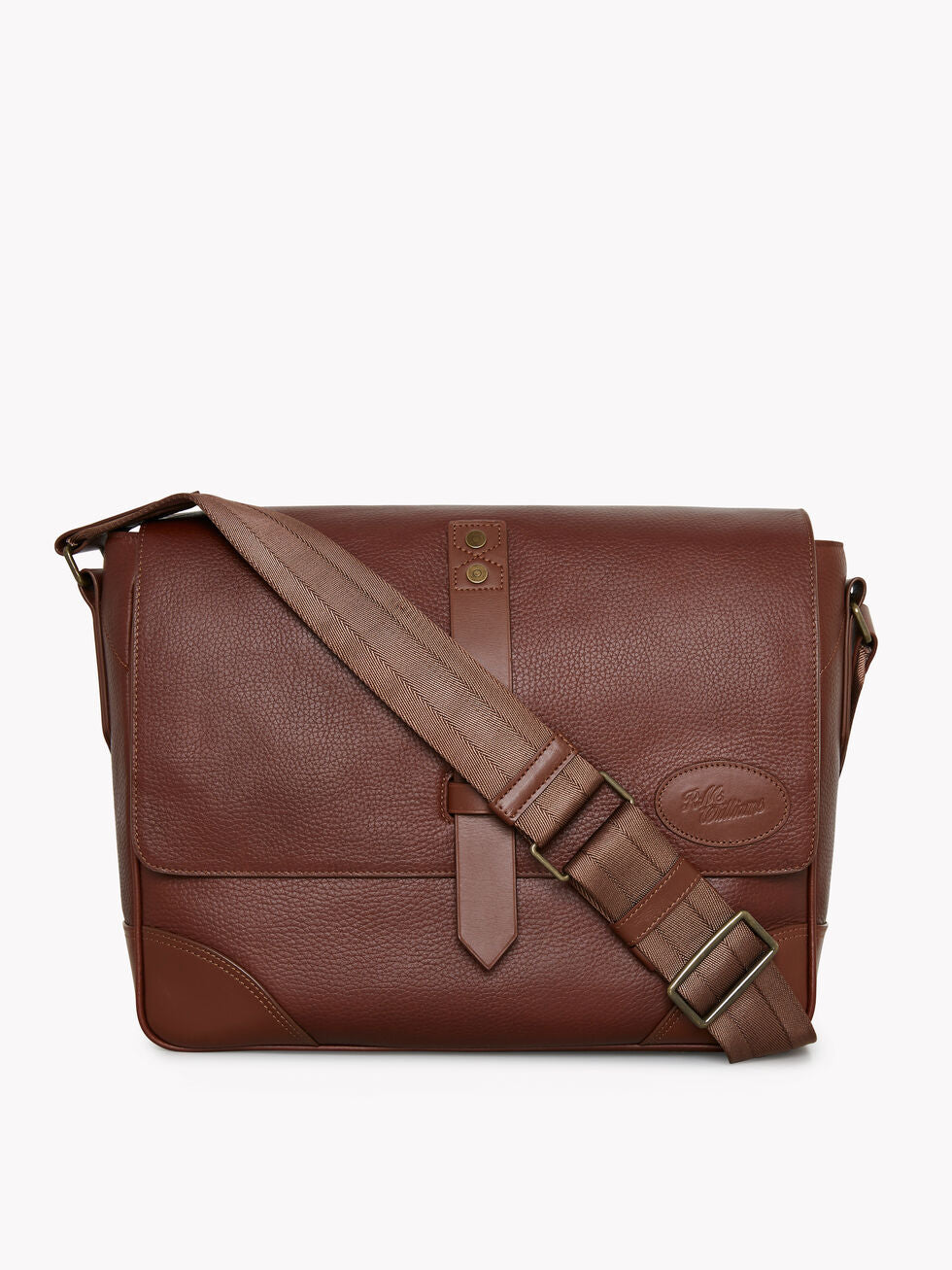 R.M.Williams Signature Messenger Bag Whiskey