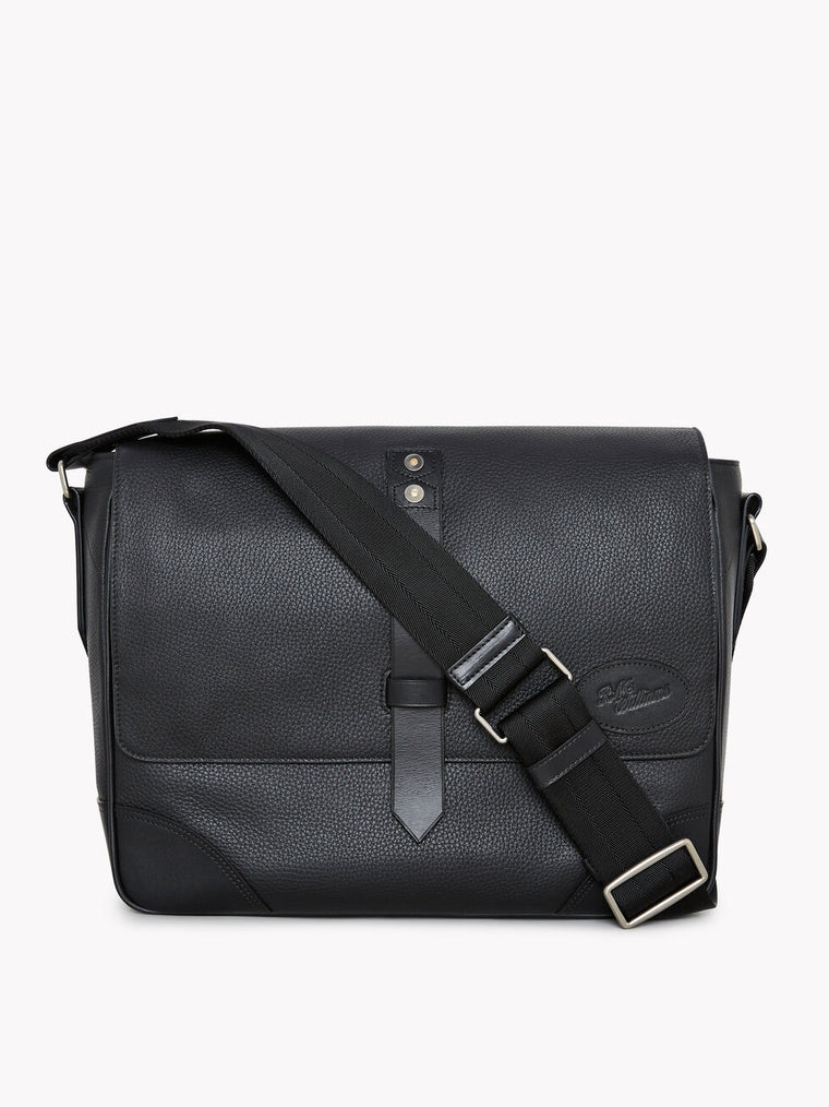 R.M.Williams Signature Messenger Bag Black