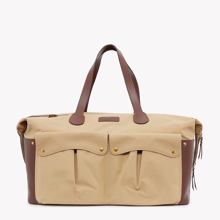 R.M.Williams Gippsland Duffle Bag Taupe Whiskey