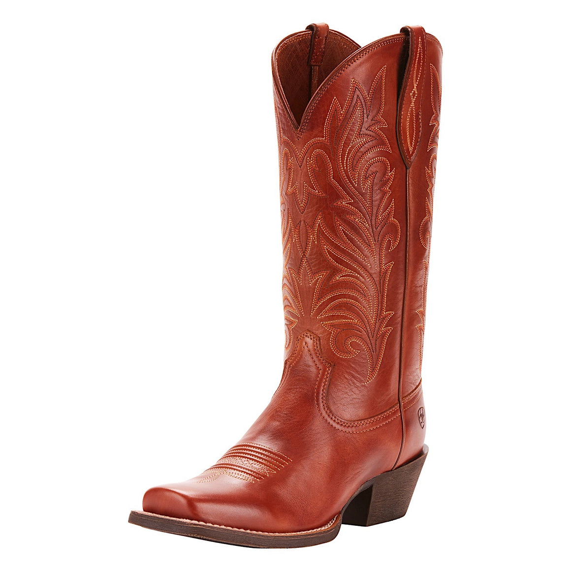 Ariat Women's Round Up Stockyards Western Boot Naturally Rich