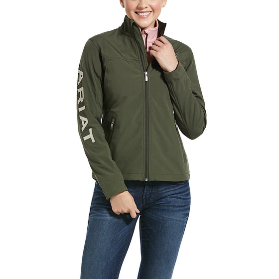 Ariat Womens New Team Softshell Jacket Prairie
