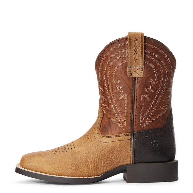 Ariat Kids Lil' Hoss Western Boot Cottage Cinnamon