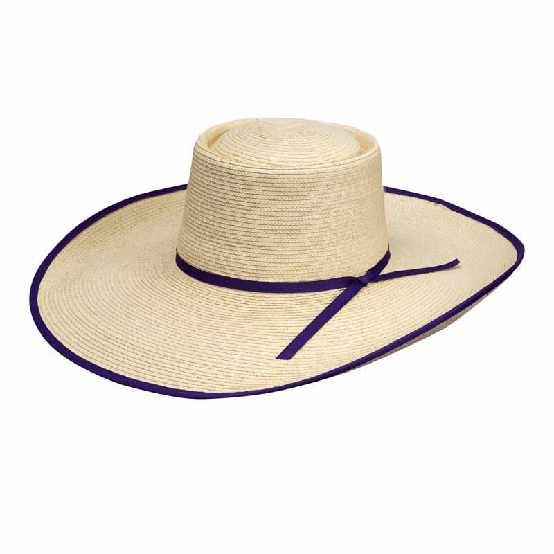Sunbody Grace 5 Inch Brim Purple Edge Bound