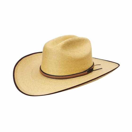 Sunbody Golden Cattleman 4 Inch Brim Chocolate Bound Edge