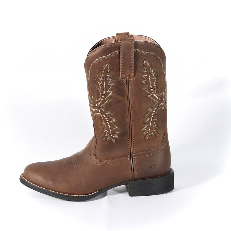 Ariat Mens Sport Stratten Distressed Brown