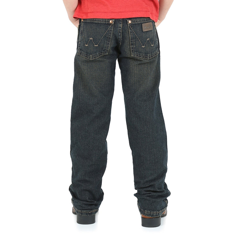 Wrangler Boys Junior Retro Relaxed Straight Jean Rolling River