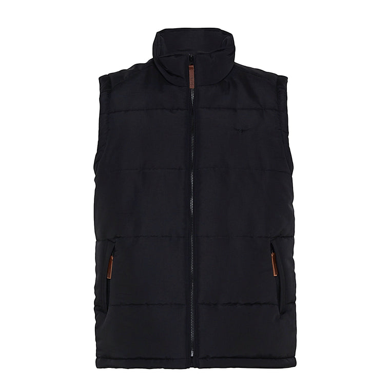 Copy of R.M.Williams Patterson Creek Vest Black Regular Fit