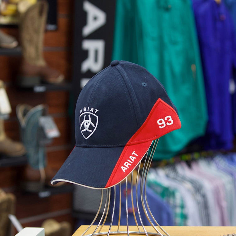 Ariat Signature Cap Navy/ Red & White