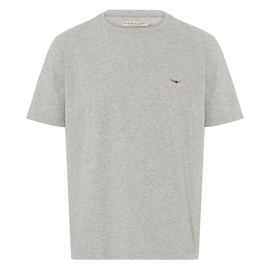 R.M.Williams Parson T - Shirt Grey Marle