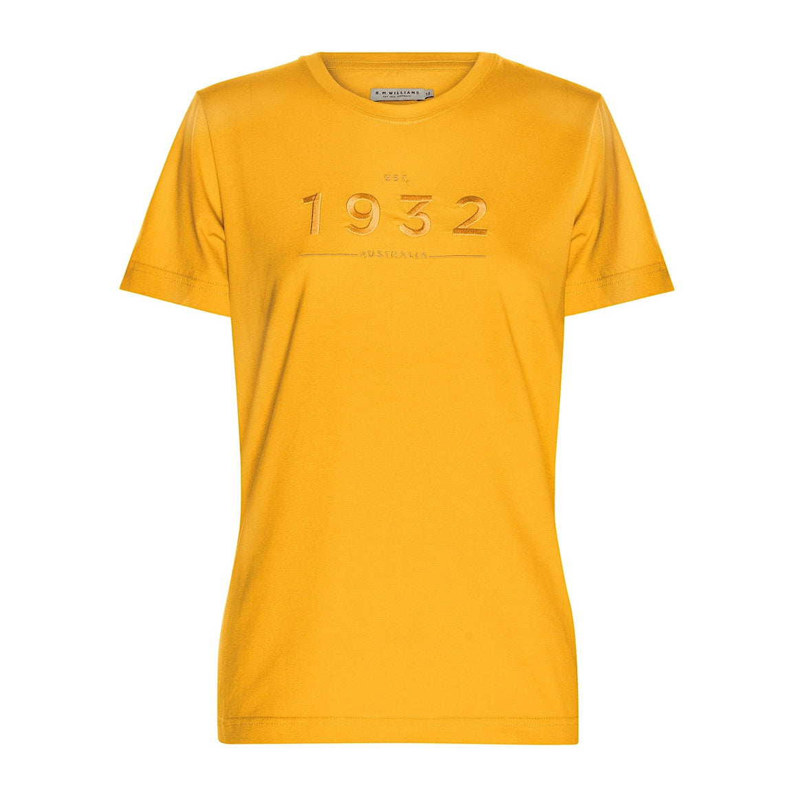 R.M.Williams Established in 1932 T-Shirt Mustard