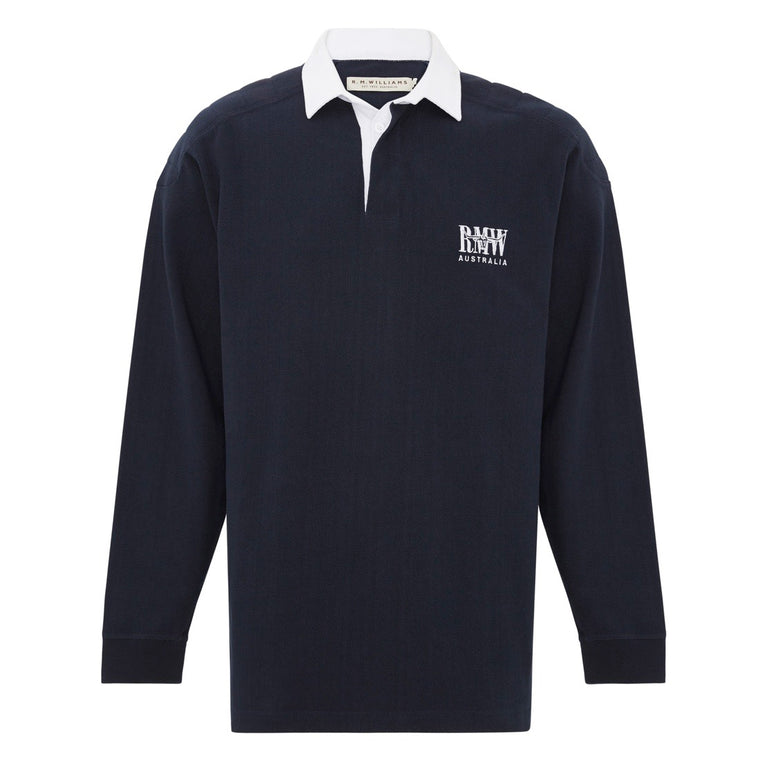 R.M.Williams Classic Rugby Navy