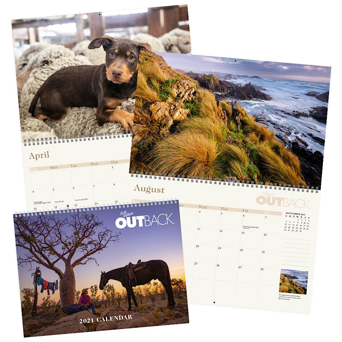 R.M.Williams 2021 Outback Calendar