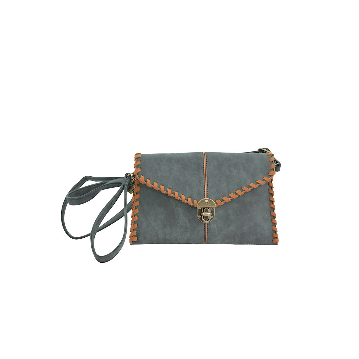 Pure Western Womens Kailee Clutch Bag Slate/Tan P0S2940HBG