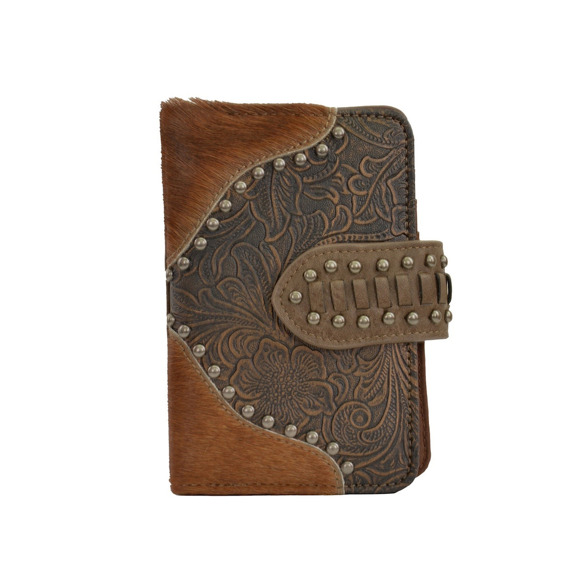 Pure Western Womens Tiffany Wallet Brown P0S2944WLT