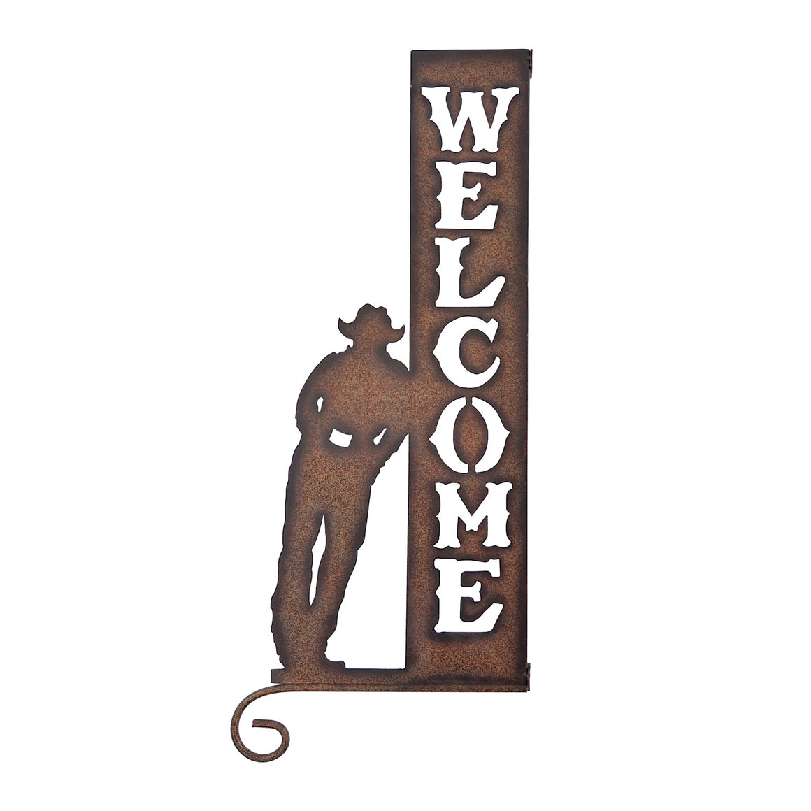 Pure Western Cut-Out Welcome Sign