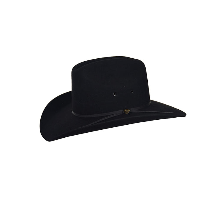 Pure Western Kids Cyclone Hat Black