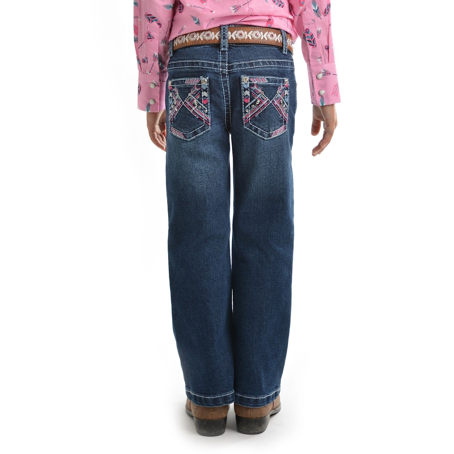 Buy Pure Western Girls Holly Boot Cut Jean Twilight The Stable Door