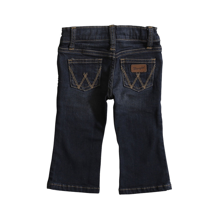 Wrangler All Around Baby Boy Western Jean Dark Blue