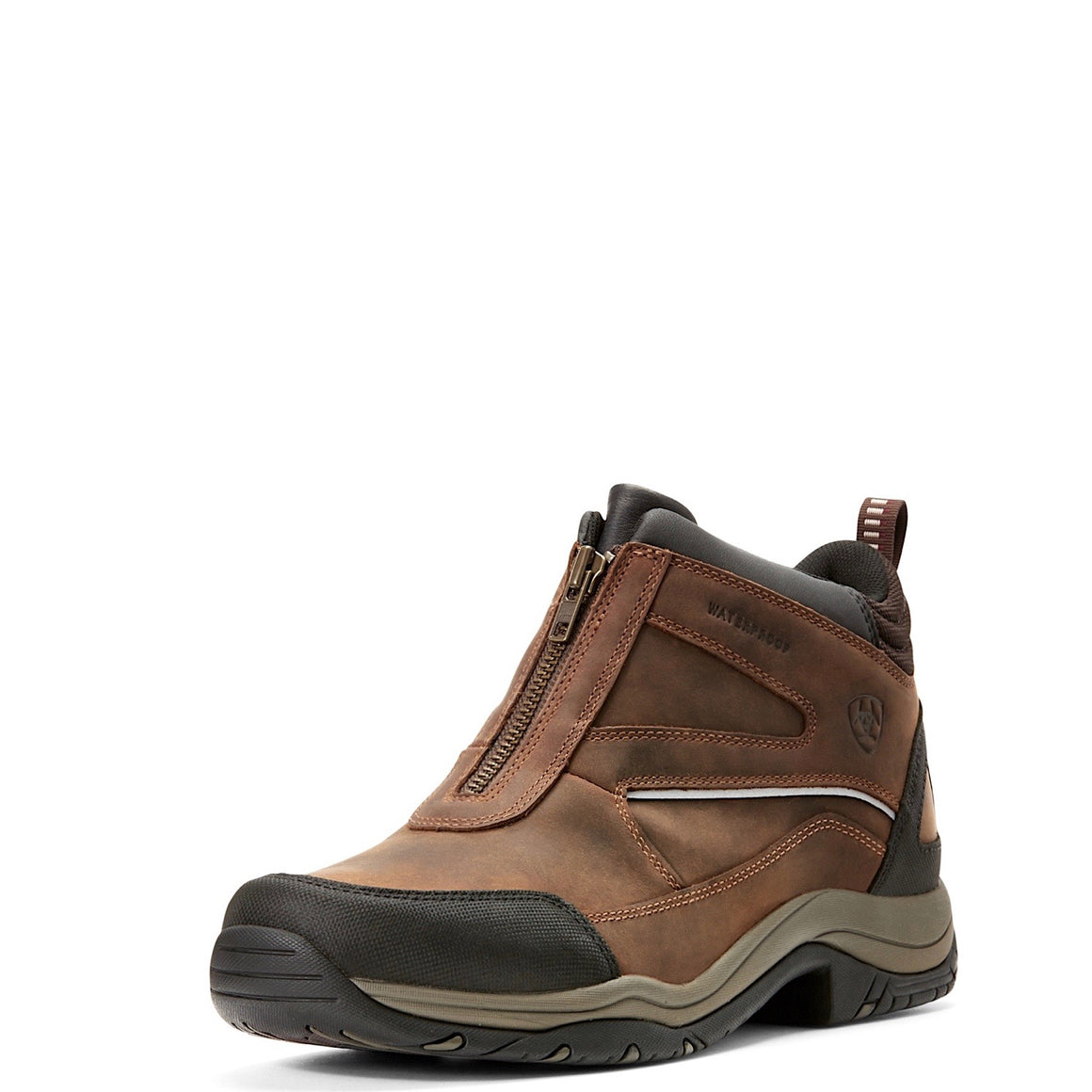 Ariat Mens Telluride Zip Boot H20 Copper