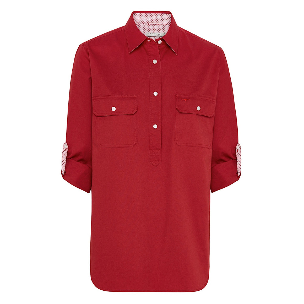 R.M.Williams Broken Hill Shirt Red