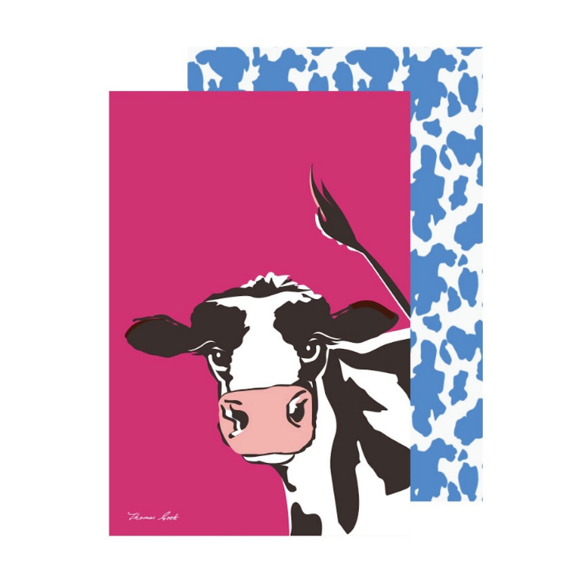 Thomas Cook Tea Towel Cleo Cow 2 Pack