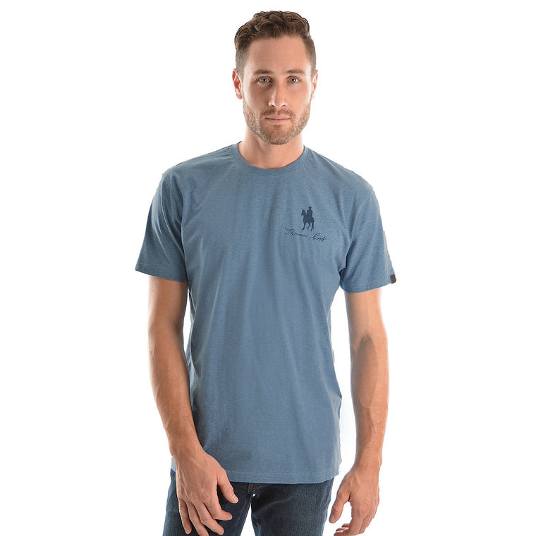 Thomas Cook Mens Logo S/S Tee Blue Marle