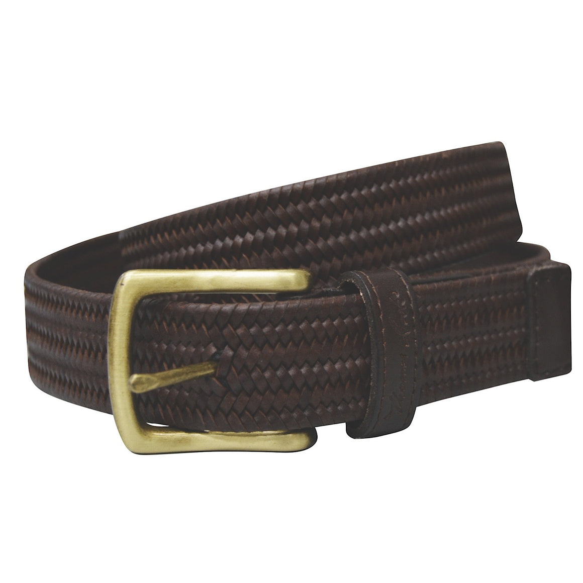 Thomas Cook Stretch Leather Belt Brown