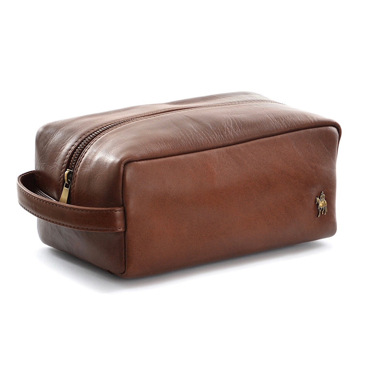 Thomas Cook Cootamundra Wash Bag Tan