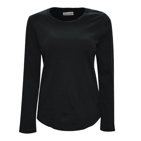Thomas Cook Womens Curved Hem Top Black