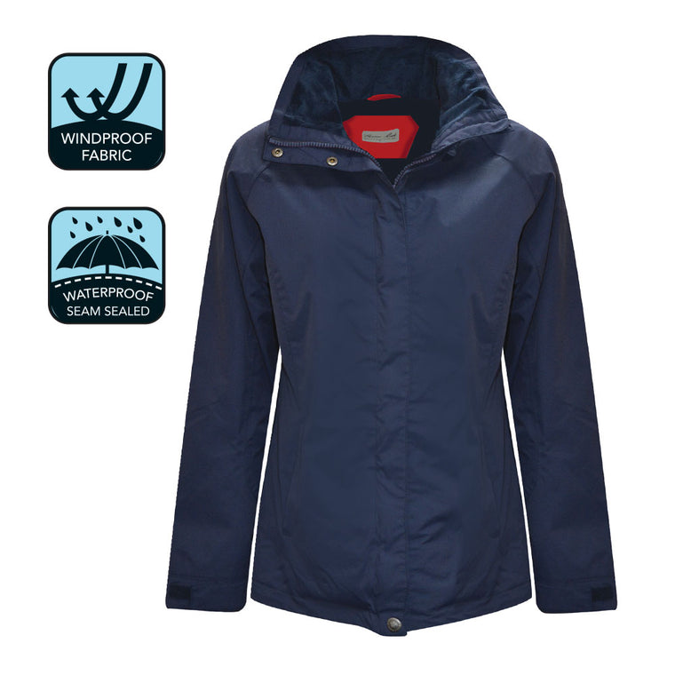 Thomas Cook Womens Jane Waterproof Jacket Dark Navy