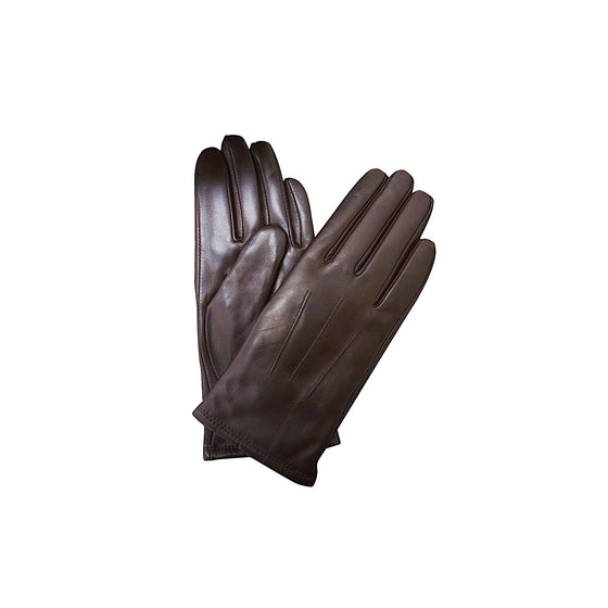Thomas Cook Womens Leather Gloves Brown