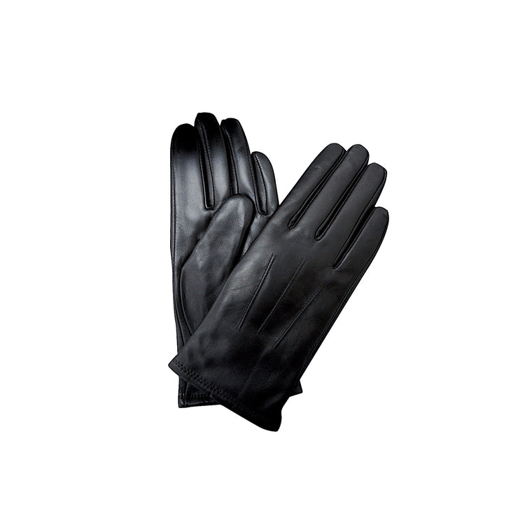 Thomas Cook Womens Leather Gloves Black