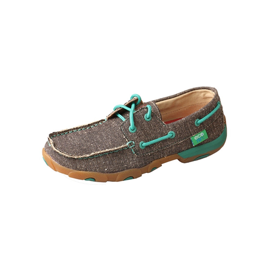 Twisted X Womens ECO TWX Casual Driving Moc Low Dust
