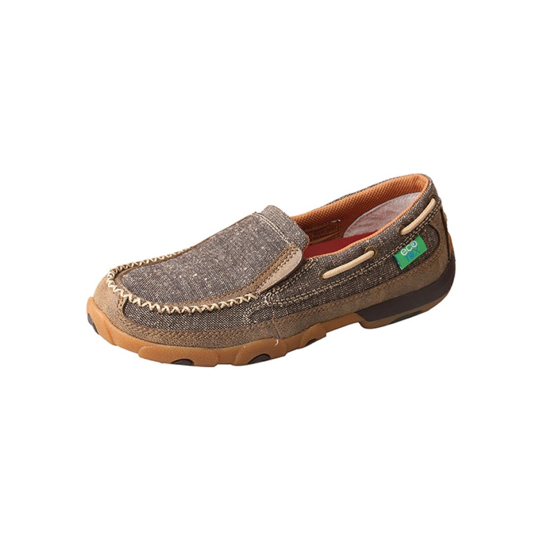 Twisted X Womens ECO TWX Casual Driving Moc Boat Slip On Dust