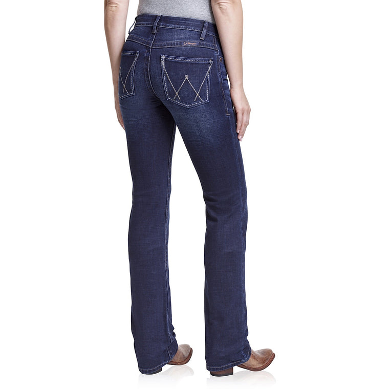 Wrangler Womens Mid Rise Waist Ultimate Riding Jean Willow Buchanan