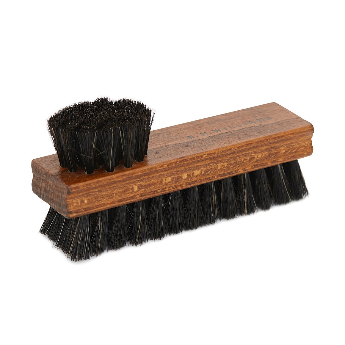 R.M.Williams Double Sided Boot Polish Brush Black Bristles AOS9YXE020100