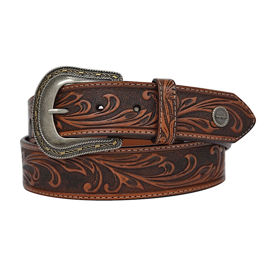 Wrangler Dusty Belt Coffee/Chestnut