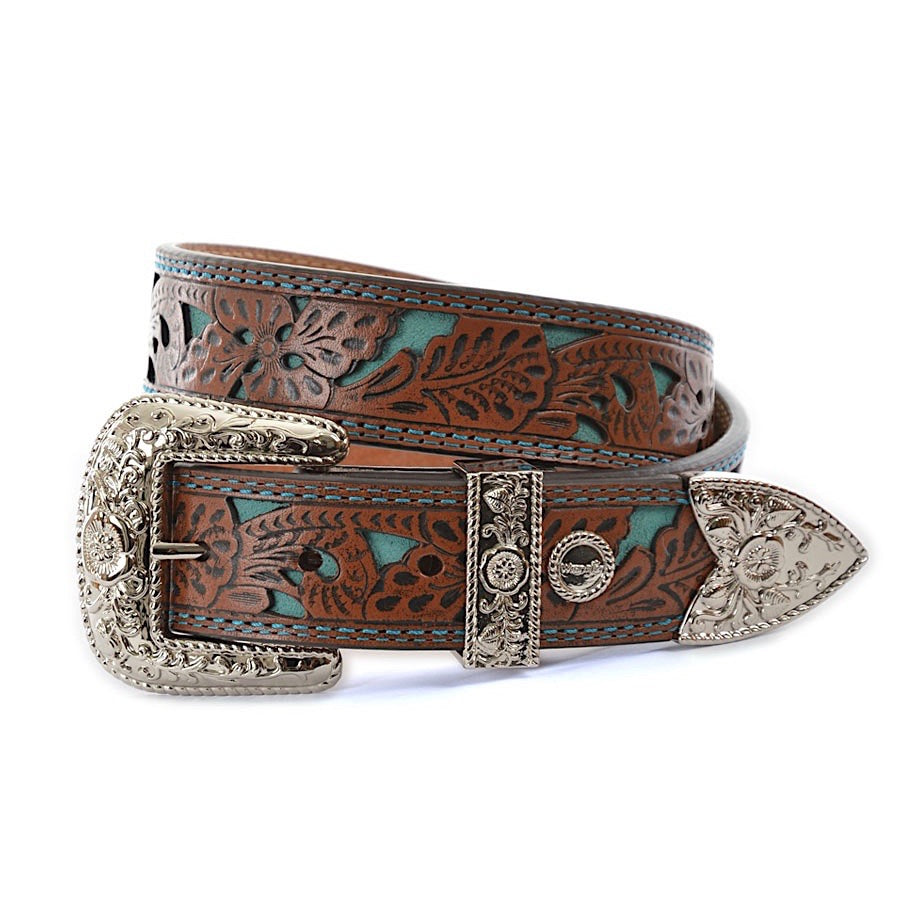 Wrangler Womens Moree Belt Chestnut