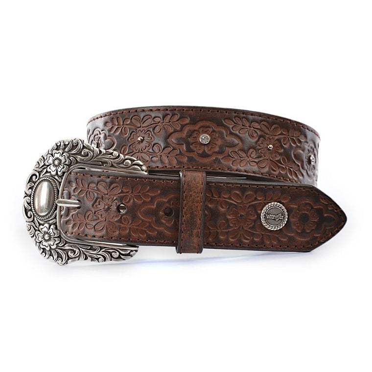 Wrangler Womens Violet Belt Coffee