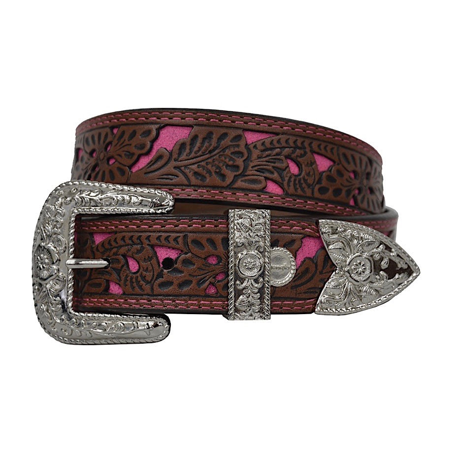 Wrangler Womens Kathleen Belt Chestnut