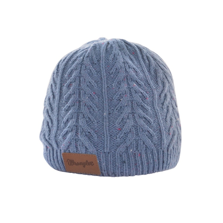 Wrangler Womens Connie Beanie Blue XCP2998BEA