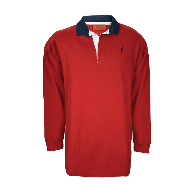 Thomas Cook Mens Bill Shoulder Panel Rugby Red