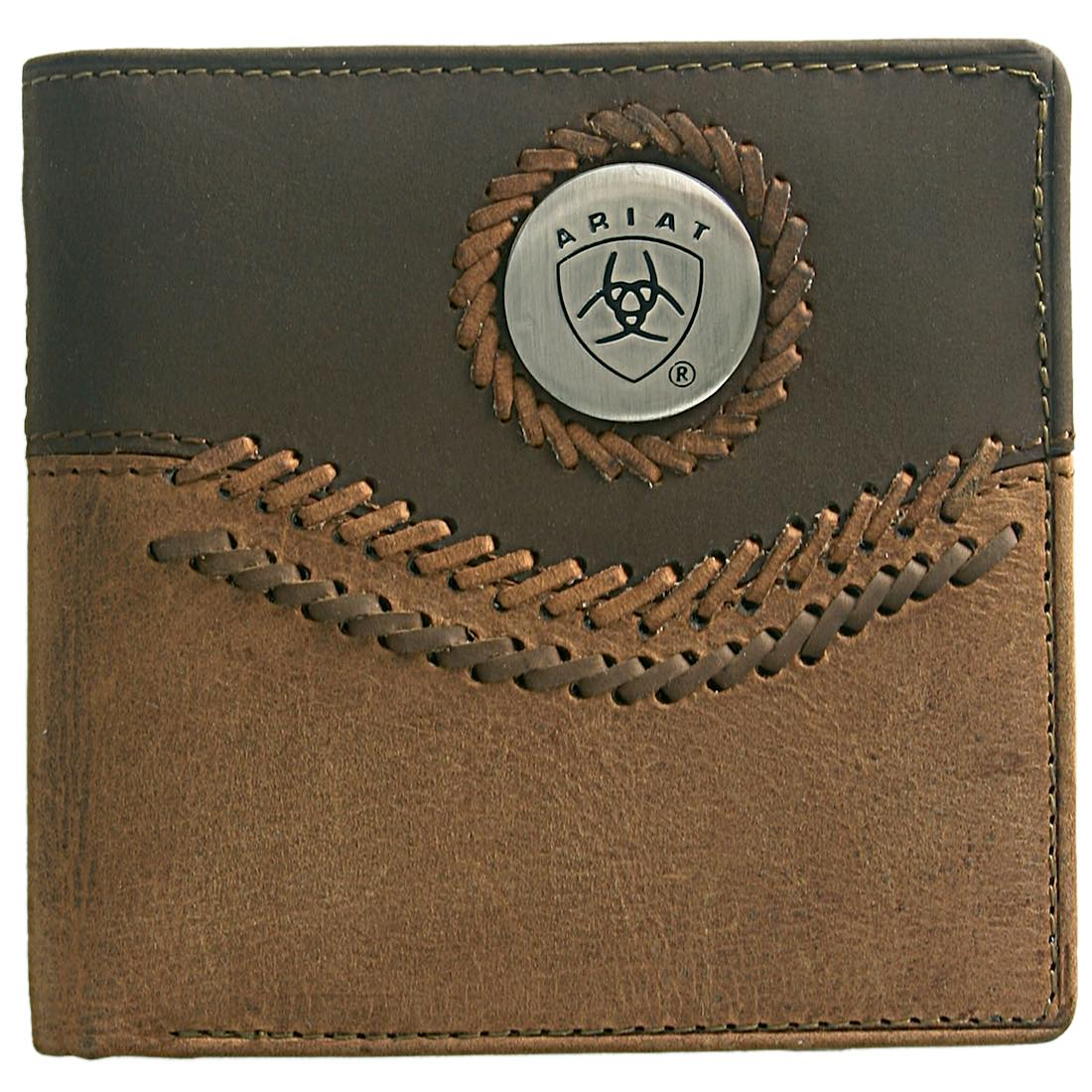 Bi Fold Wallet- Chestnut/ Brown WLT2101A